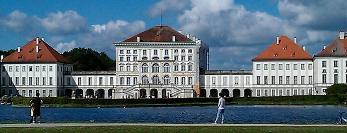 Schloss Nymphenburg is one of München.