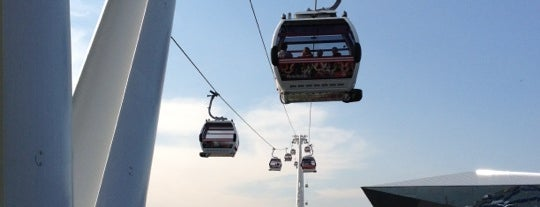 Emirates Air Line is one of London, UK (attractions).