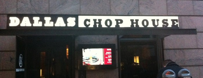 Dallas Chop House is one of Burger Joints.