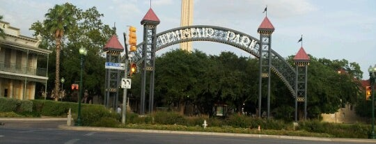 Hemisfair Plaza Playground is one of Kim's Liked Places.
