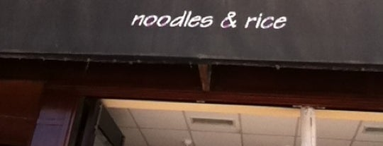 Joy's Noodles is one of Chitown.