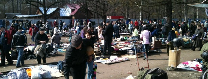 Udelnaya Flea Market is one of Flea markets of the world.