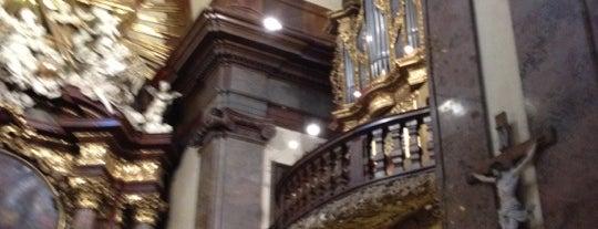 Kostel sv. Františka z Assisi is one of Liliya : понравившиеся места.