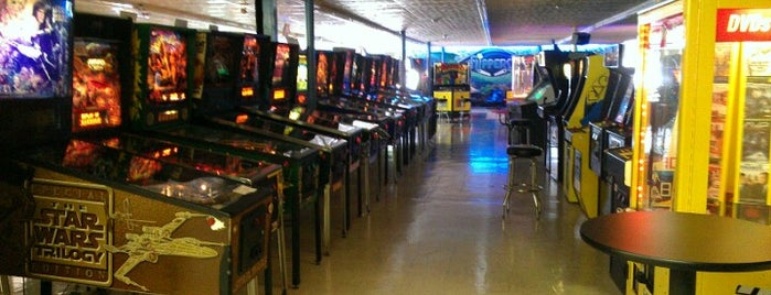 Flippers is one of Pinball Destinations.