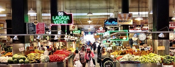 Grand Central Market is one of DTLA.