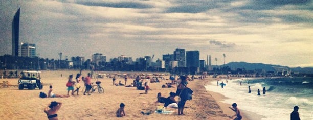 Platja del Bogatell is one of Barca Places.
