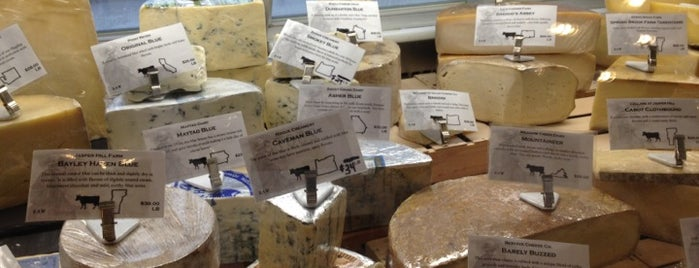 Beecher's Handmade Cheese is one of [NY] Gourmets & Shops.