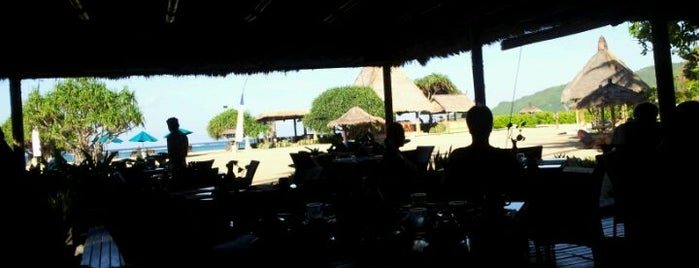 NovoteL Beach Front Cafe is one of Bali 2.0.