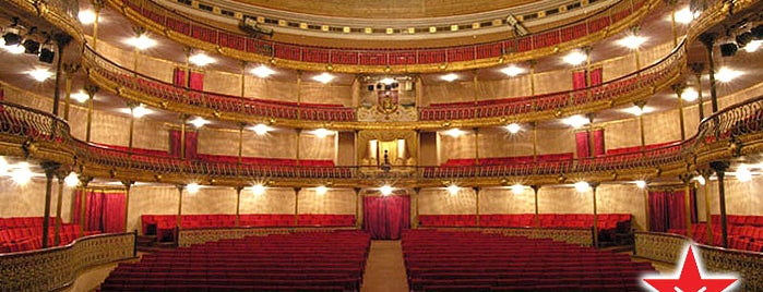 Teatro Municipal de Caracas is one of Explorando en: Caracas, Venezuela #4sqCities.