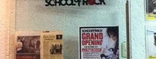 School Of Rock Pedregal is one of lugares para rockear!!!.
