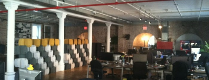 AOL Ventures is one of NYC Work Spaces & Tech Startups.