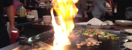 Sakura Japanese Steakhouse & Sushi is one of สถานที่ที่ Enrique ถูกใจ.