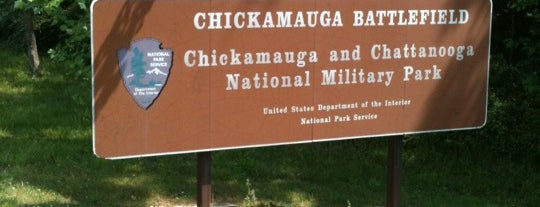 Chickamauga and Chattanooga National Military Park is one of Chattanooga.