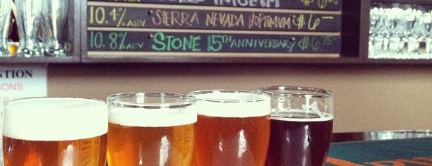 Holy Grale is one of CraftBeer.com's Best Craft Beer Bar in Every State.