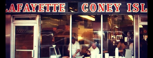 Lafayette Coney Island is one of The World Outside of NYC and London.