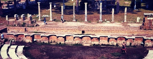Ostia Antica is one of Rmoa.