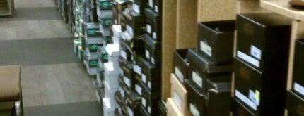 DSW Designer Shoe Warehouse is one of boston.