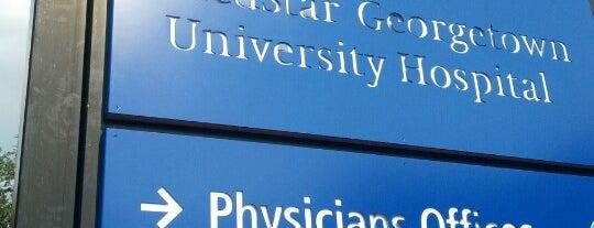 MedStar Georgetown University Hospital is one of sweetpearacer 님이 좋아한 장소.