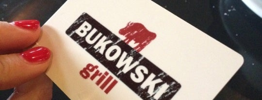 Bukowski Grill is one of Future sites.