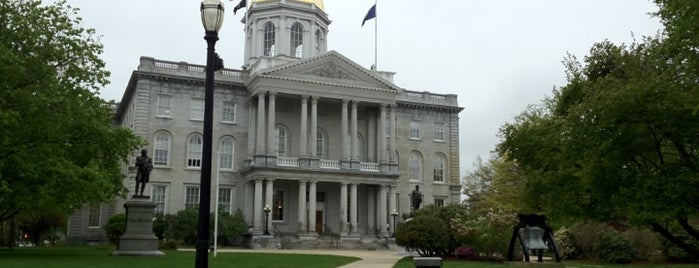 New Hampshire State House is one of The Crowe Footsteps.