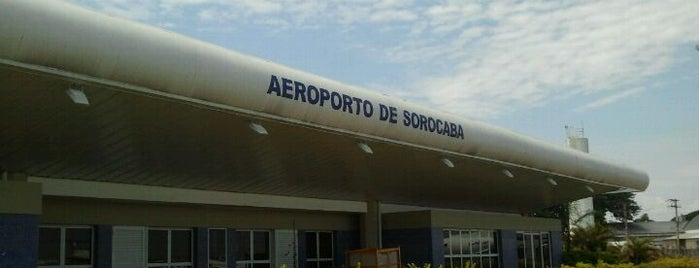 Aeroporto Estadual Bertram Luiz Leupolz (SOD) is one of Lugares guardados de Fabio.