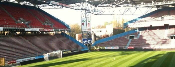 Stade du Pays de Charleroi is one of 'Stadium Talk'....