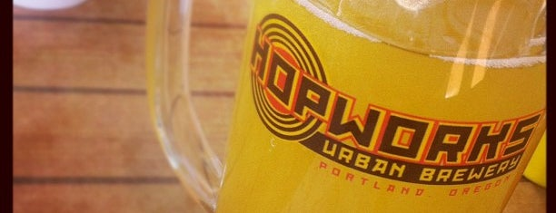 Hopworks Urban Brewery is one of Gluten Free Grub.
