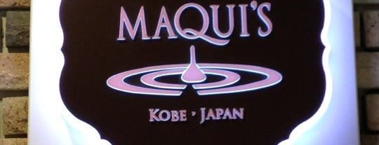 Maqui's is one of angelineさんのお気に入りスポット.