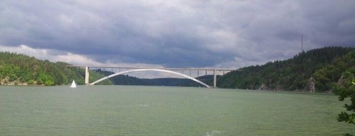 Vodní nádrž Orlík is one of Orlik 2017-07.