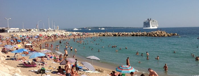 Plage du Midi is one of Cannes, France.