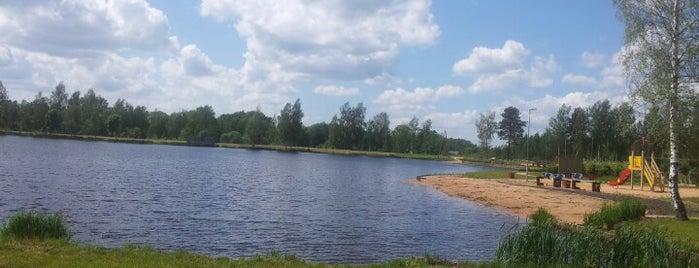 Vecais Vecumnieku ezers / Kempings is one of AtputasBazes.lv.