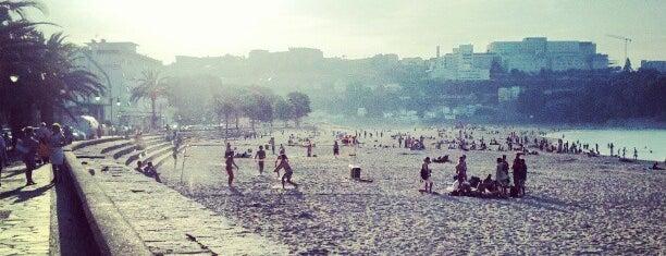 Praia de Santa Cristina is one of Tempat yang Disukai Manu.