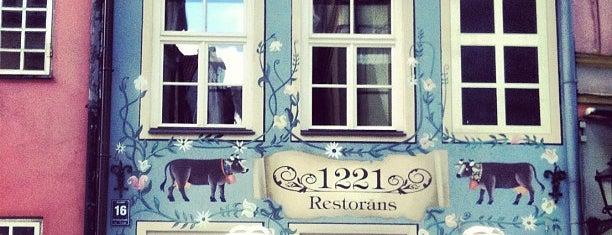 """""""1221"""" restorāns is one of Restorāni,bāri,klubi LV."""