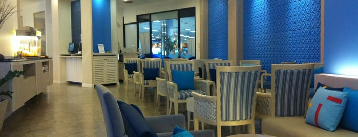 Bangkok Airways Boutique Lounge is one of Posti che sono piaciuti a Jesse.