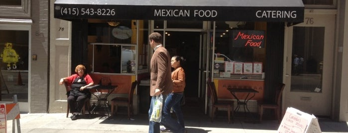 Caramba Mexican Food is one of San Francisco.
