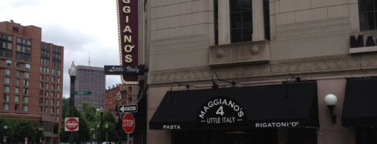 Maggiano's Little Italy is one of Massachusetts.