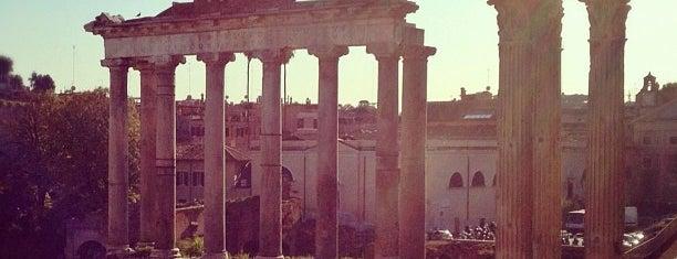 Tempio di Saturno is one of ROME - ITALY.