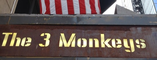 The Three Monkeys is one of USA NYC Favorite Bars.