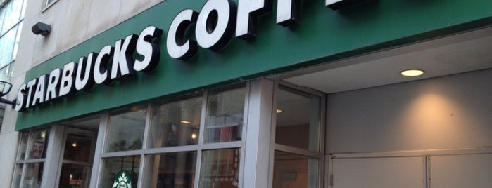 Starbucks is one of Lieux qui ont plu à Mayara.
