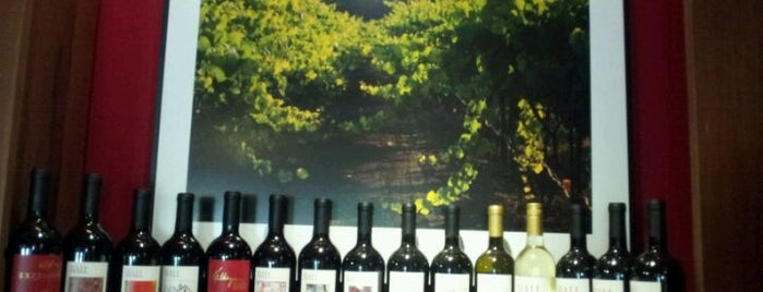 Hall Wines is one of Napa Trip, November 2012.