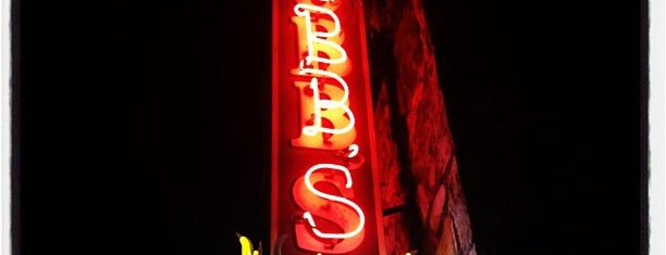 Stubb's Bar-B-Q is one of Hook 'Em Horns- Austin.
