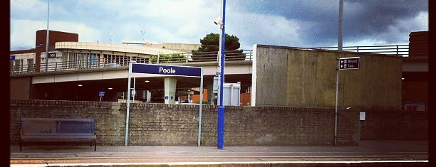 Poole Railway Station (POO) is one of You calling me a train spotter?.