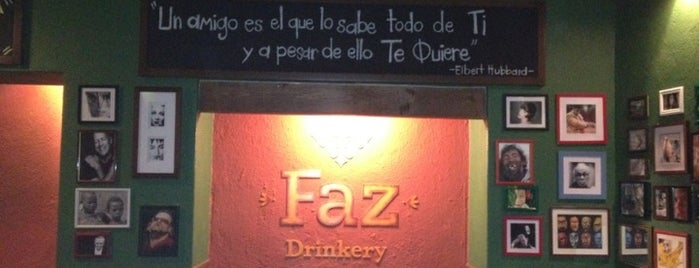 FAZ DRINKERY is one of Querétaro :).