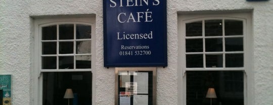 Rick Stein's Café is one of Cornwall.
