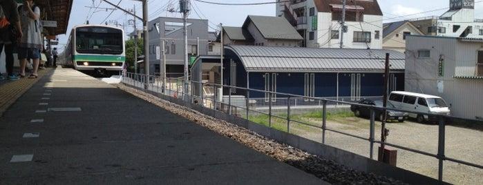 Kohoku Station is one of JR 키타칸토지방역 (JR 北関東地方の駅).