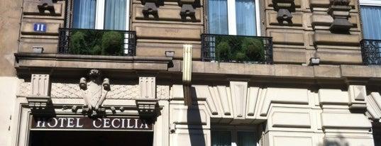 Hôtel Cécilia is one of Tempat yang Disukai Faisal.