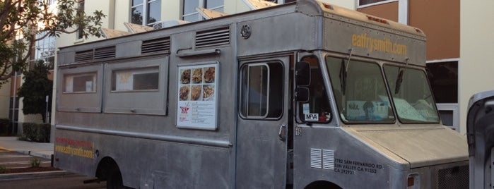 Frysmith Truck is one of food trucks.
