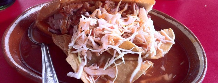 Tortas ahogadas El Tejón is one of Favoritos.