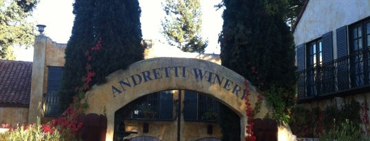 Andretti Winery is one of Lugares favoritos de Carlos.