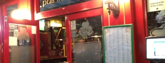 Celtics Pub is one of Aline 님이 저장한 장소.